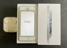 Apple iPhone 5 - 16GB White & Silver (Sprint) Unlocked ~ Great Condition