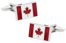Canadian Flag Canada Cufflinks Direct from Cuff-Daddy