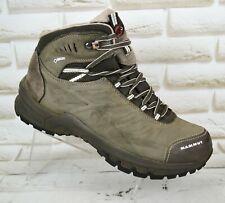 MAMMUT Nova Mid II GTX Womens Leather Hiking Waterproof Boots Size 7 UK 40.5 EU