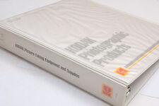"Kodak 2"" Binder Picture taking Equipment Supplies Price A7-189 7-Ring Used B127C"