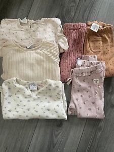 Baby Girl Zara Small Bundle Leggins And Top Size 18-24m