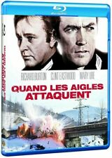 Blu Ray : Quand les aigles attaquent - Clint Eastwood - NEUF