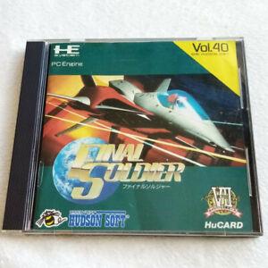 Final Soldier Nec PC Engine Hucard Japan Ver. PCE Shmup Hudson Soft 1991