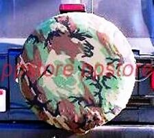 "SPARE TIRE COVER 26.5""-28.8"" new bronco Camo K zc7/89642p"