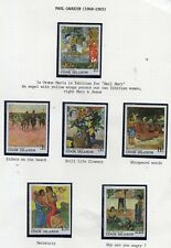 Cook Island Stamps Paul Gauguin 1848 _ 1903 Mint Never Hinged
