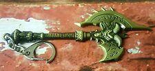 WoW Keyring World Warcraft Mini Metal AXE Shadowmourne Keyring Size 11*4.5cm UK