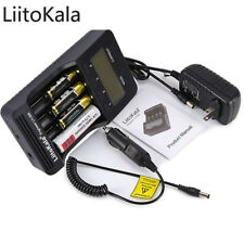 Liitokala Lii - 500 Intelligent 4 Slots LCD Li-ion Battery Charger Ni-MH NiCd US