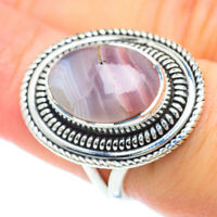 Botswana Agate 925 Sterling Silver Ring Size 7 Ana Co Jewelry R56643F