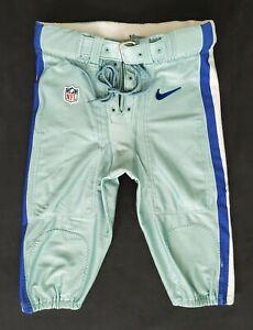 Dallas Cowboys Locker Room Issued Seafoam Green Football Pants - Size 36 Short