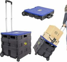 dbest products Quik Cart, two wheeled collapsible handcart