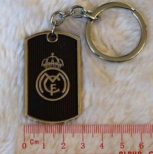 kiTki Real Madrid carve metal plate football soccer keychain key ring league