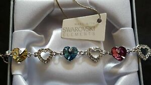 Gift Boxed Bracelet Made With Swarovksi® Crystals