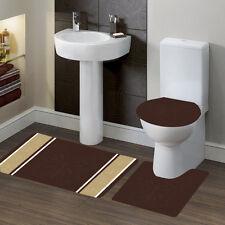 Butterfly Design #7 Bathroom Bath Contour NonSlip Rug Mat Set & Toilet Lid Cover