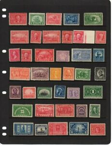 Early US Mint original gum lot