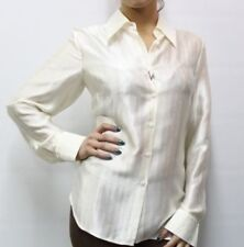 CAMICIA 189,00 € - 50% KRIZIA DONNA I95837H07265 PANNA 100% seta silk MIS.50