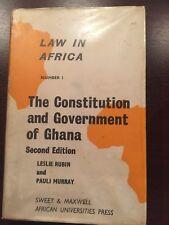 LAW IN AFRICA by LESLIE RUBIN & PAULI MURRAY -AFRICAN UNIVERSITIES PRESS H/B D/W