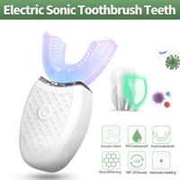 NEW 360° Wireless Automatic Electric Sonic Toothbrush Teeth Whitening Brush