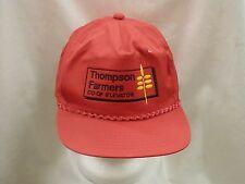 trucker hat baseball cap THOMPSON FARMERS CO-OP ELEVATOR cool nice style retro