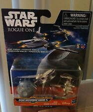 Star Wars Rogue One Micromachines Death Star X-Wing Fighter Rebel U-Wing Fighter