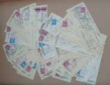LOT OF 95 CANADIAN BANK of COMMERCE CHECKS CHEQUES 1946 1957 Checks w/ Stamps