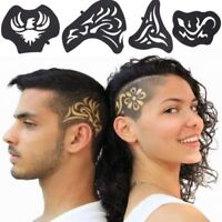Hair Tattoo Template Carved Patterns Salon Barber Tools Accessories Water Heart