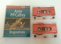 AUDIO BOOK CASSETTE - Anne McCaffrey's Dragondrums Read By Adrienne Barbeau 1994