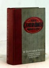 1914 W. Butcher & Sons The Camera House Price List Early Film Catalog