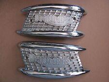 82-4766/7 1961/2 6 T T110 T120 TR6 TRIUMPH Tiger Gasolina Tanque De Combustible De Gas Placa (PR)