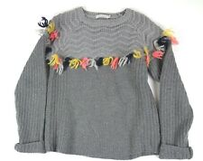 Stella McCartney gray sweater girls sz 12 years