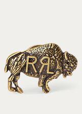 Men's RRL (Double RL)-RALPH LAUREN Buffalo Brass Pin