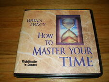 BRIAN TRACY How To Master Your Time (6 CD Set) UNABRIDGED