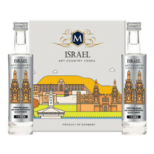 Tipo Country vodka Israele PLATINUM COLLECTION 2x5cl miniature GERMANY