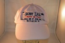 VTG Skinny Legs Bar Coral Bay St Johns Pink Strap-Back BallCap Truckers Hat  VGC
