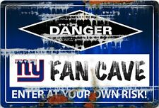 NFL NEW YORK GIANTS FAN CAVE SIGN