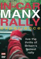 In-Car Manx: Rally Experience [DVD] Official gift idea new uk rare footage MANX