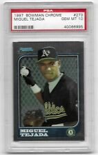 1997 Bowman Chrome Miguel Tejada #273 PSA 10 Gem Mt