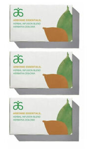 3x ARBONNE Essentials Herbal Infusion Blend Tea 60 Bags (3x20 Bags / 3x40g)