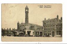 CPA-Carte Postale-Belgique Gand Gare Saint Pierre -1928-VM13509