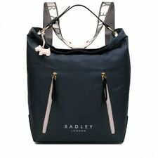 Brand New Radley Crofters Way Large Zip Top Hobo Backpack- Shadow!