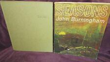 SEASONS ~ John BURNINGHAM.   1st HbDj  1969.  FEAST for the eyes. RARE   in MELB