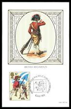 GB UK MK 1983 BRITISH REGEMENTS SOLDIER SOLDATEN UNIFORM MAXIMUMKARTE MC CM as29