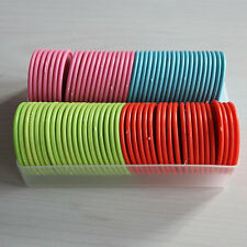 80 Plastic Poker Chips - Color Random  F&F