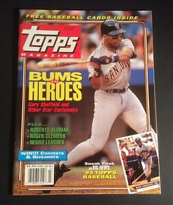 Topps Magazine Fall 1992 #12 w/ 8 Collectible Baseball Cards Mark McGwire