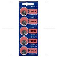 50 NEW SONY CR1220 3V Lithium Coin Battery Expire 2026 FRESHLY NEW - USA Seller