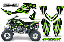 POLARIS OUTLAW 450 500 525 2006-2008 GRAPHICS KIT CREATORX DECALS SPEEDX GB