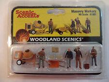 Woodland Scenics Ho #1901 - Masonry Workers