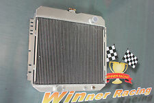 aluminum radiator for Ford Maverick 250cu 302cu in. L6 V8 4.1L 5.0L AT 71-73