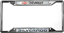 New Chevrolet Silverado License Plate Frame