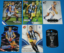 2011-07 AFL Select Kangaroos Andrew Swallow #115 + EXTRAS inc GDC,Premiers Tag