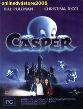 CASPER (Bill PULLMAN Christina RICCI Cathy MORIARTY) Family Comedy Film DVD